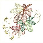 Link to the Autumn Leaves embroidery design collection