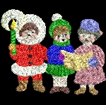 Link to the Christmas 2003 4x4 embroidery design collection