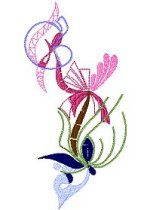 Link to the Secret Garden 1 5x7 embroidery design collection