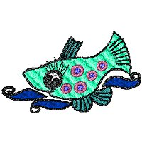 Design of a whimsical fish