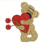 Link to the Loveable Bears embroidery design collection