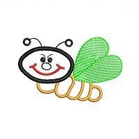 Embroidery design of a bug for little children.jpg