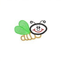 Small embroidery design of a bug for little children.jpg