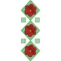 Decorative Pattern embroidery design 7