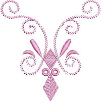 Decorative Pattern embroidery design 10