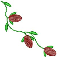 Decorative Pattern embroidery design 34