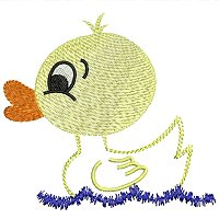 Embroidery design of a duckling for little children .jpg