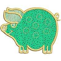 Image of petfarmpigapplique200.jpg
