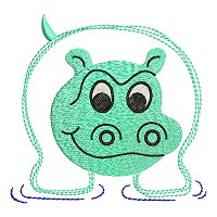 Embroidery design of a hippo for little children.jpg