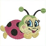 Link to the Ladybugs embroidery design collection