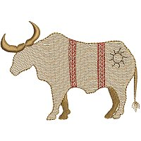 Embroidery design of a Maasai bul.jpg