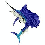 Link to the Saltwater fish embroidery design collection