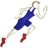 Embroidery design of a sprinter.jpg