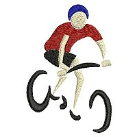 Embroidery design of a bicycle rider.jpg