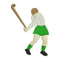 Embroidery design of a girl playing hockey.of petsporthockey01200.jpg