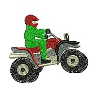 Embroidery design of a four wheel motor cycle.jpg