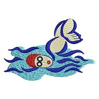 Embroidery design of a swimmer.jpg