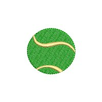 Embroidery design of a tennis ball.jpg