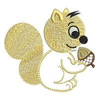 Embroidery design of a squirrel for little kids.jpg