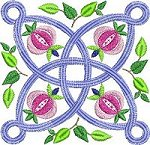 Link to the Secret Garden quilt blocks embroidery designs
