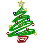 Link to the Christmas 2002 embroidery design collection